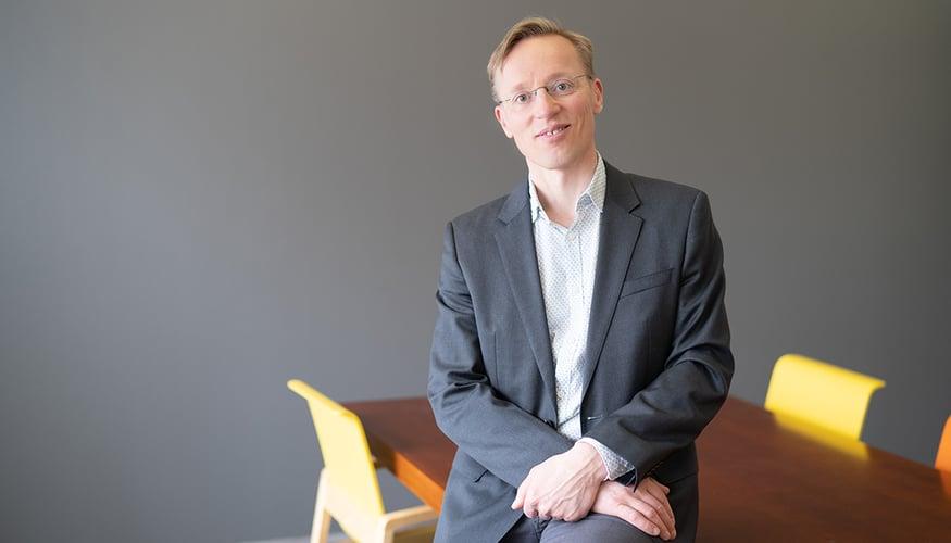 Granon avainasiakaspäällikkö Petri Leiste kertoo Amos Rex -yhteistyöstä