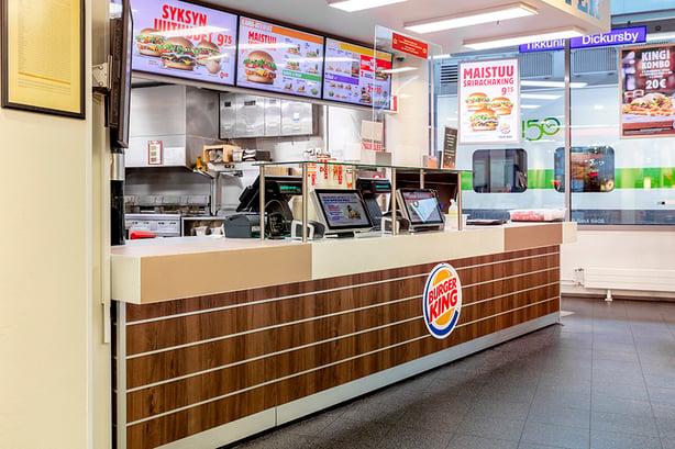 Burger King testaa CovidSafe Virusteippiä ravintolassaan