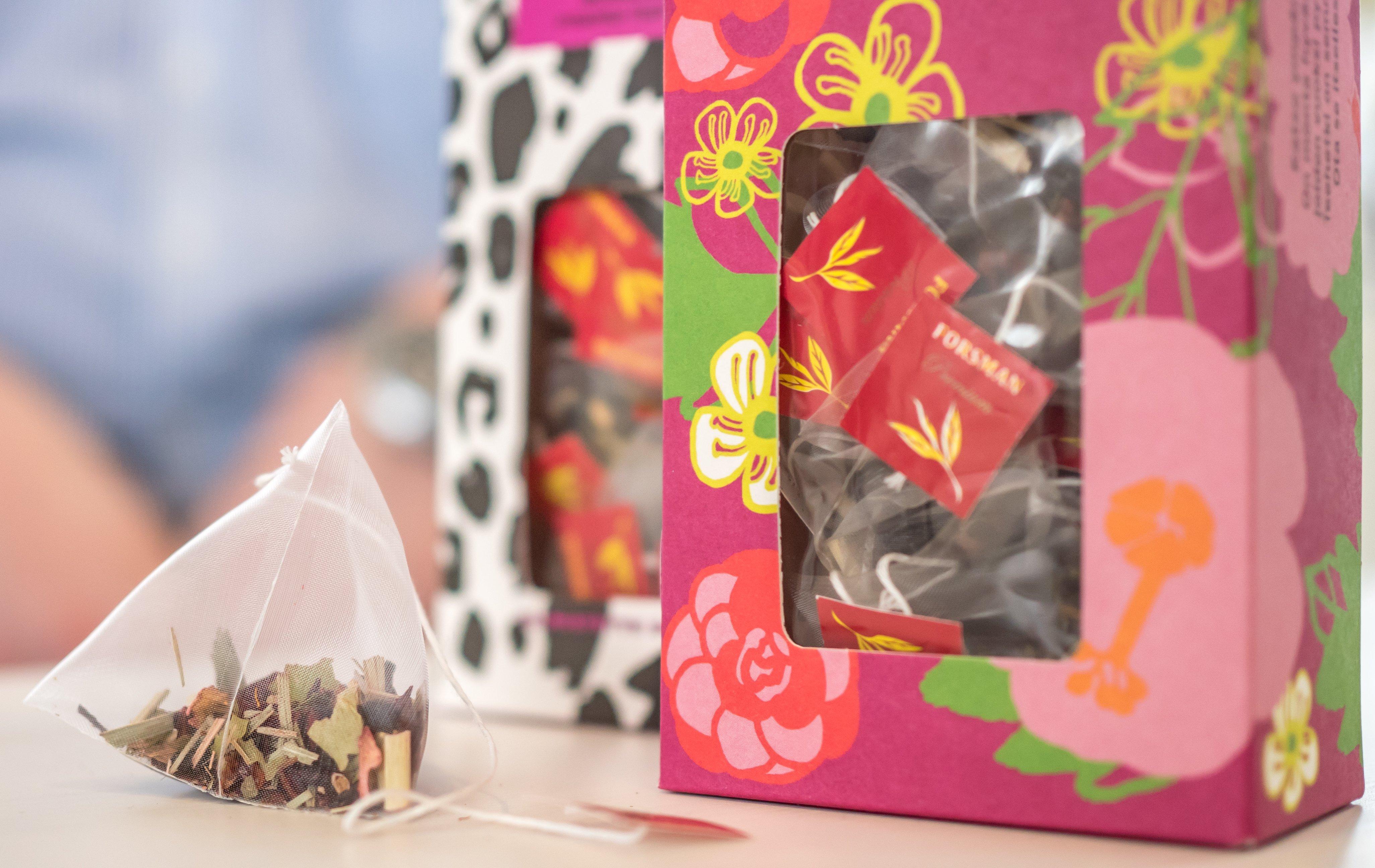 forsman tea pakkaussuunnittelu