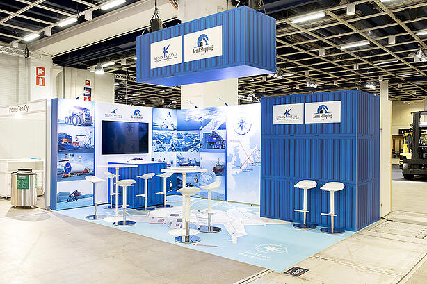 Case Kemin Satama ja Kemi Shipping: Näyttävä messuosasto palveluna