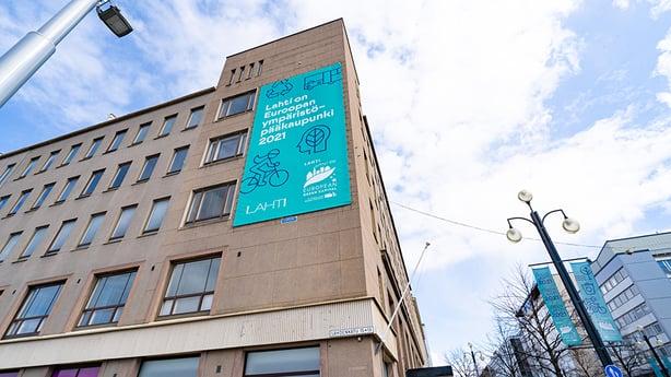 Ympäristöpääkaupungin markkinointimateriaalit saavat uuden elämän