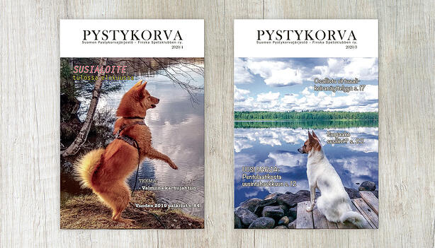 Grano toteutti Suomen Pystykorvajärjestön e-julkaisun