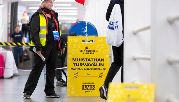 Granon ja Suomen Urheiluliiton turvatuotekumppanuus Helsinki City Running Day -tapahtumassa jatkuu