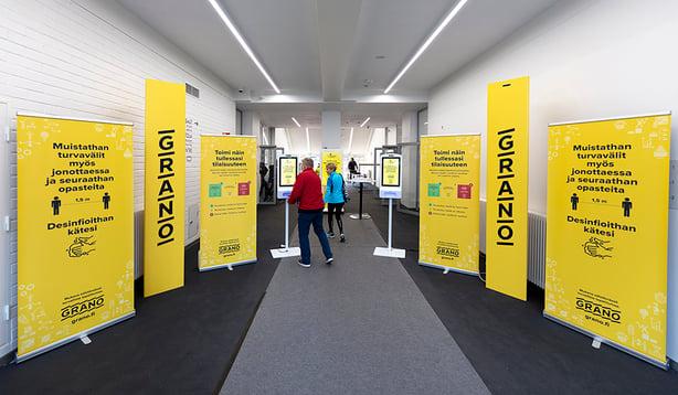 Grano toimi Helsinki City Running Day -tapahtuman turvatuotekumppanina