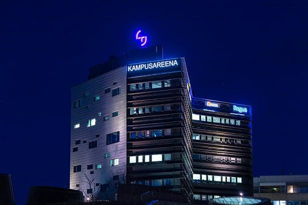 Uusi yhtenäinen ilme Tampereen korkeakouluyhteisön kiinteistöille