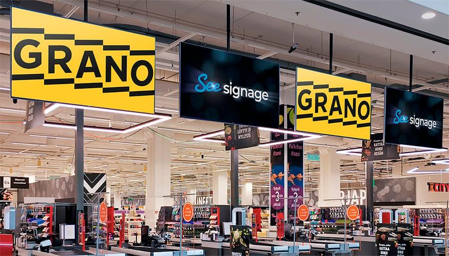 Grano ja SeeSignage ovat solmineet yhteistyösopimuksen