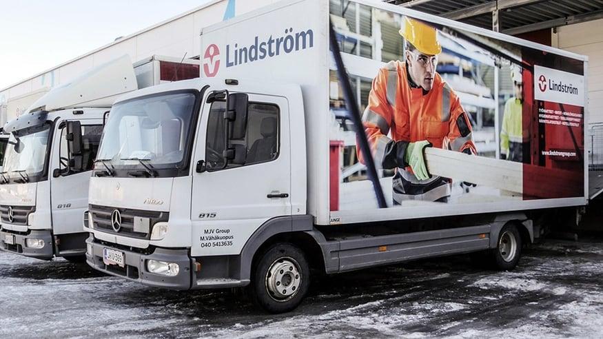 Lindström hankki painotuotteet, Multiweb-tilausportaalin, kuvapankin ja teippaukset Granosta.