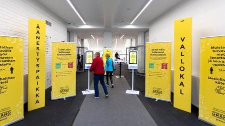 Turvatuotteet kuntavaaleihin Granosta