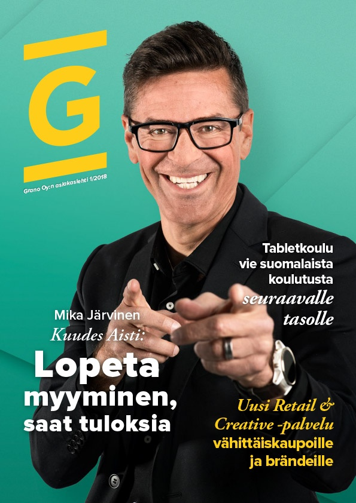 Grano asiakaslehti 1 / 2018