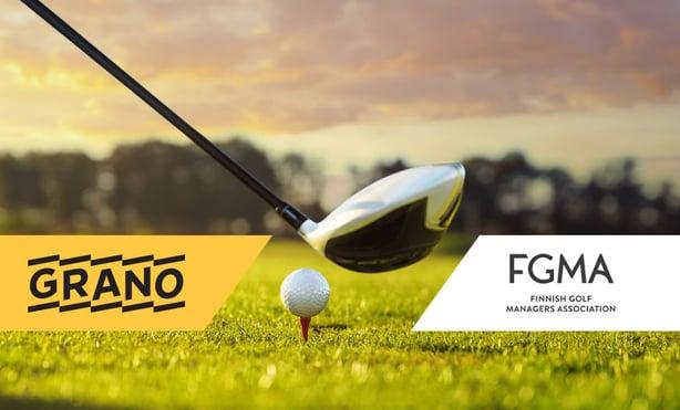 Grano ja FGMA yhteistyöhön kehittämään golfyhteisöjen näkyvyyttä ja markkinointia