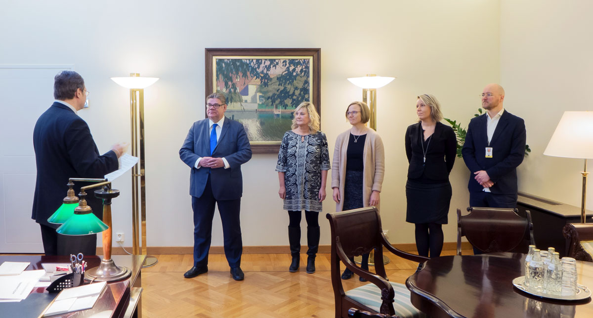Grano mukana toteuttamassa ulkoministeriön uutta visuaalista ilmettä