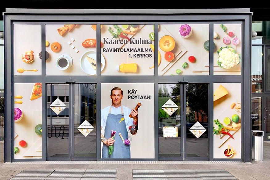 Granon teippaukset lisäävät Kauppakeskus Kaaren ravintolamaailman huomioarvoa