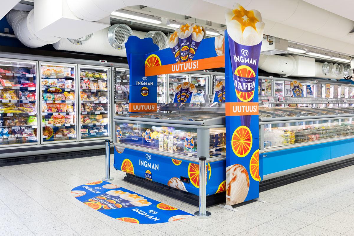 Olimme toteuttamassa Unileverin kaikkien aikojen suurinta jäätelöpromoa