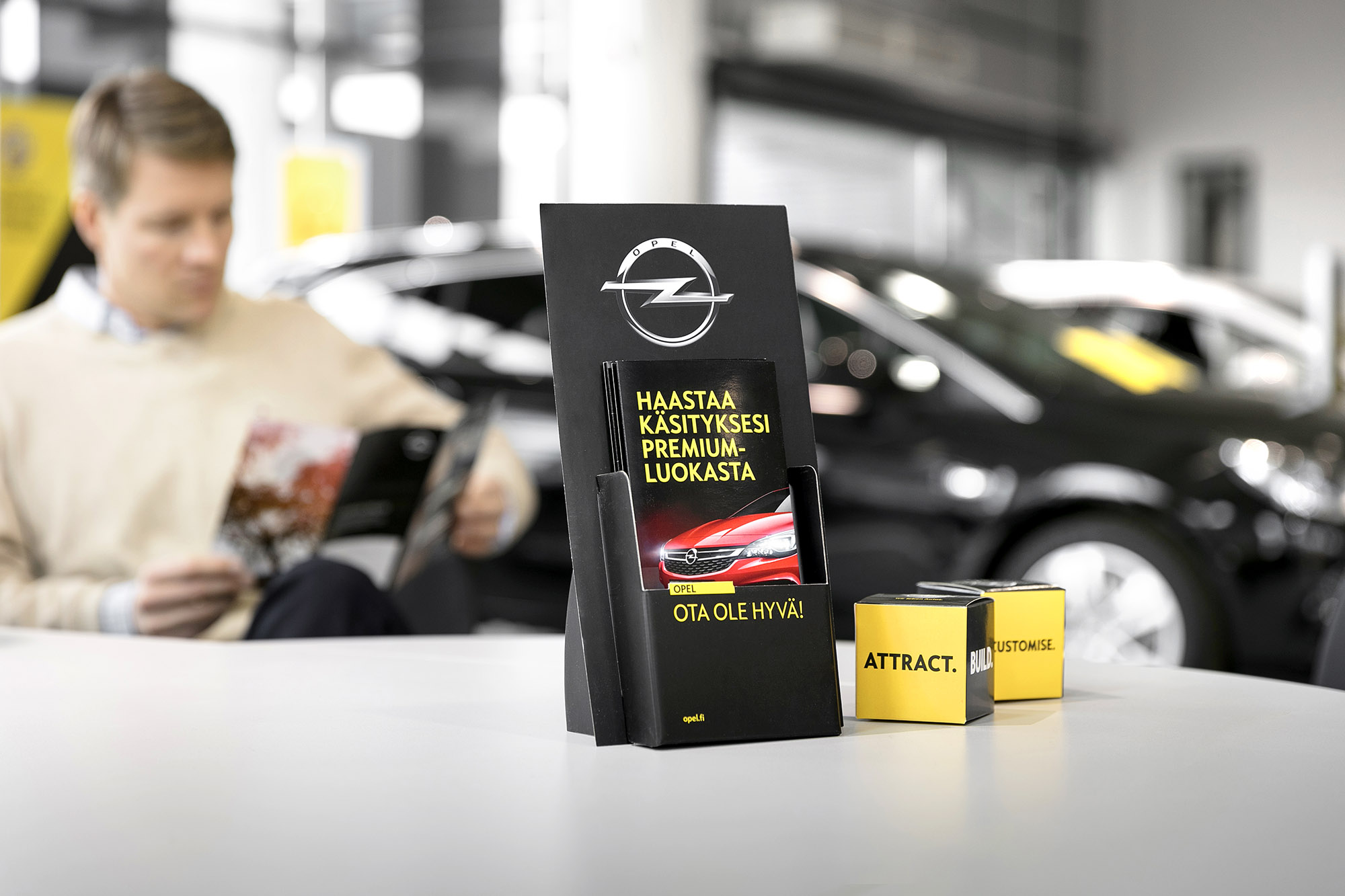 Automarkkinointi kasvatti Opelin markkinaosuutta