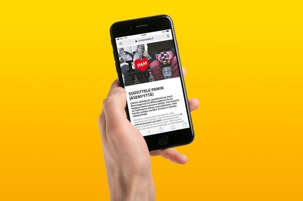 Digitaalinen jäsenhankintakampanja toi PAMille rutkasti uusia jäseniä – Granon suosittelupalvelu apuna