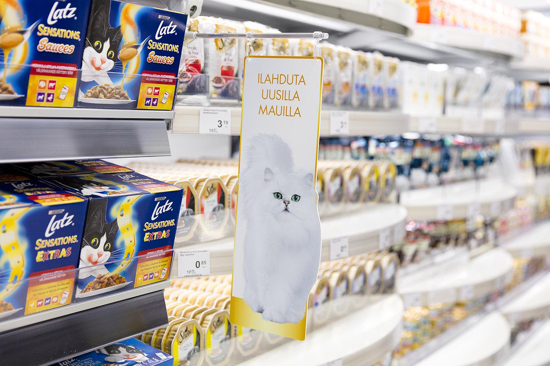 Innostavaa myymälämarkkinointia Nestlé Purina PetCarelle