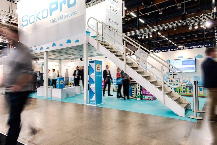 Grano Retail & Creative messut SokoPro Finnbuild