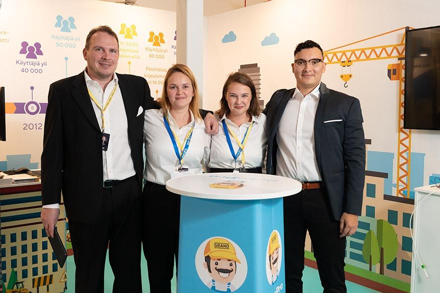 Grano Retail & Creative messuosasto SokoPro Finnbuild
