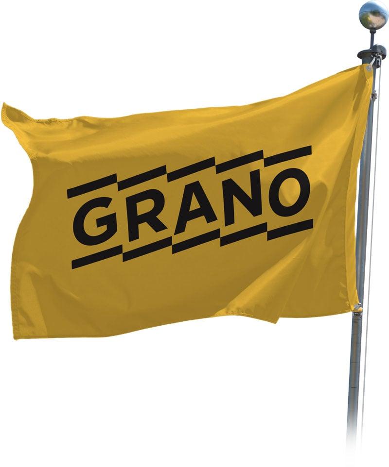 Mainoslippu Yrityslippu Grano