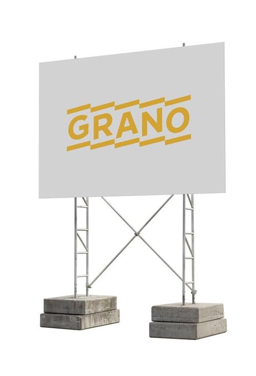 Työmaataulut ja työmaakyltit Grano