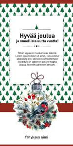 Sähköinen joulukortti Granosta