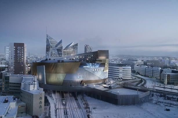Granon SokoPro vauhdittaa Tampereen Kansi ja areena -hanketta kohti uudenlaista kaupunkia
