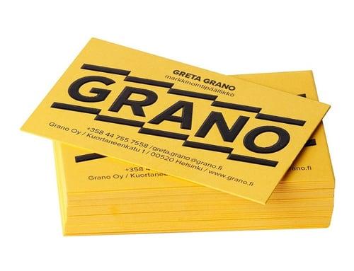 Käyntikortit Granolta