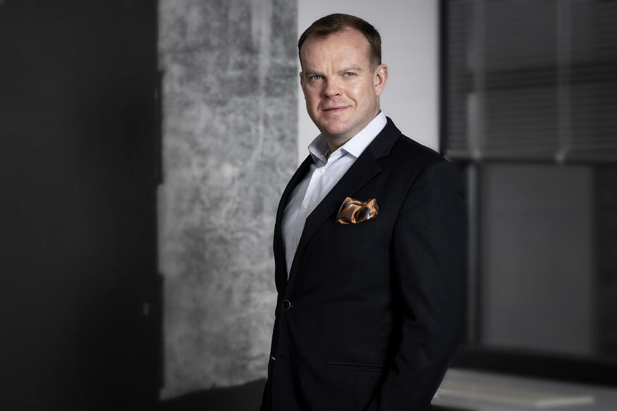 Liiketoimintajohtaja Petteri Ormio