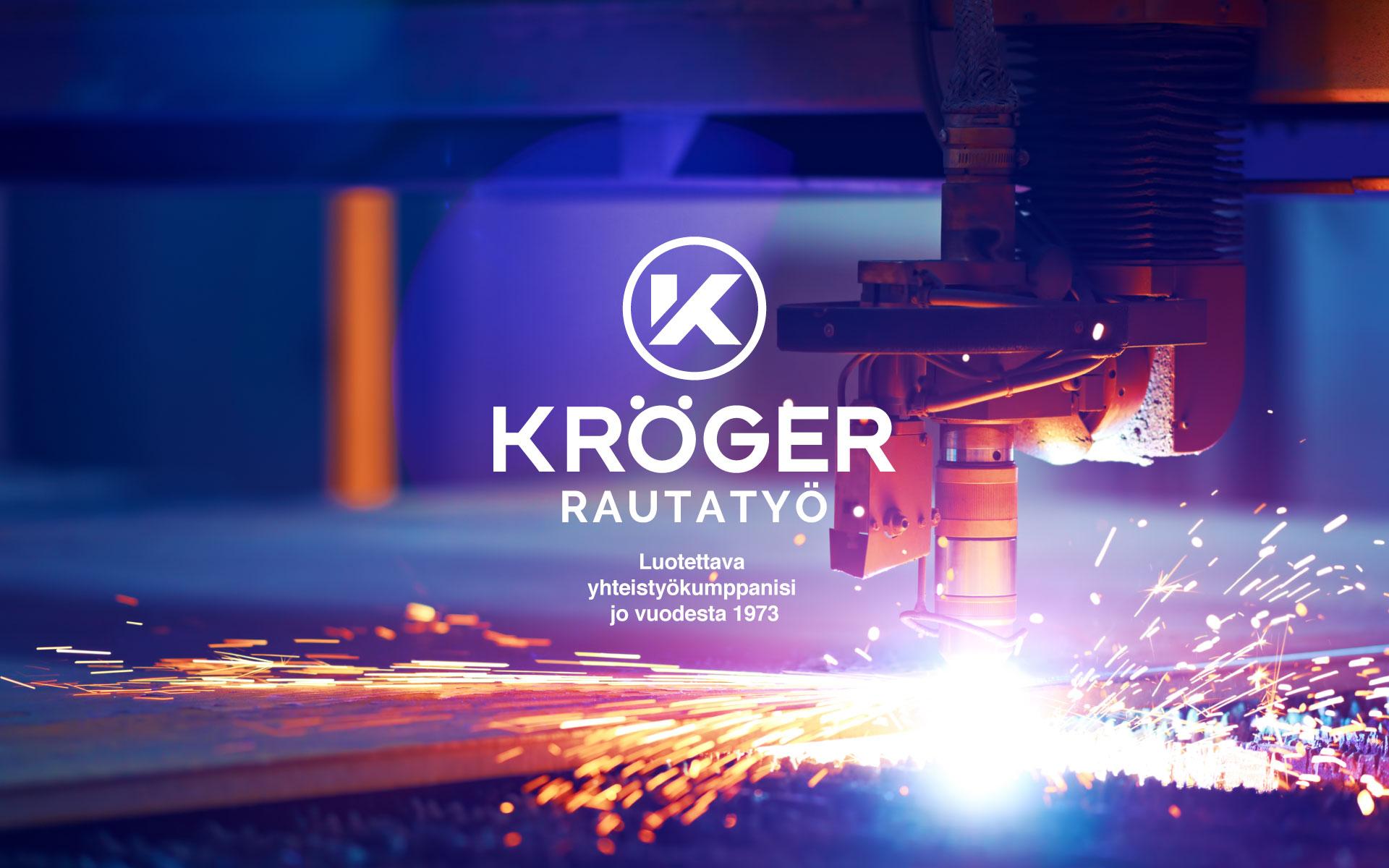 Rautatyö Kröger Yritysilme Logo Värimaailma Typografia Grano