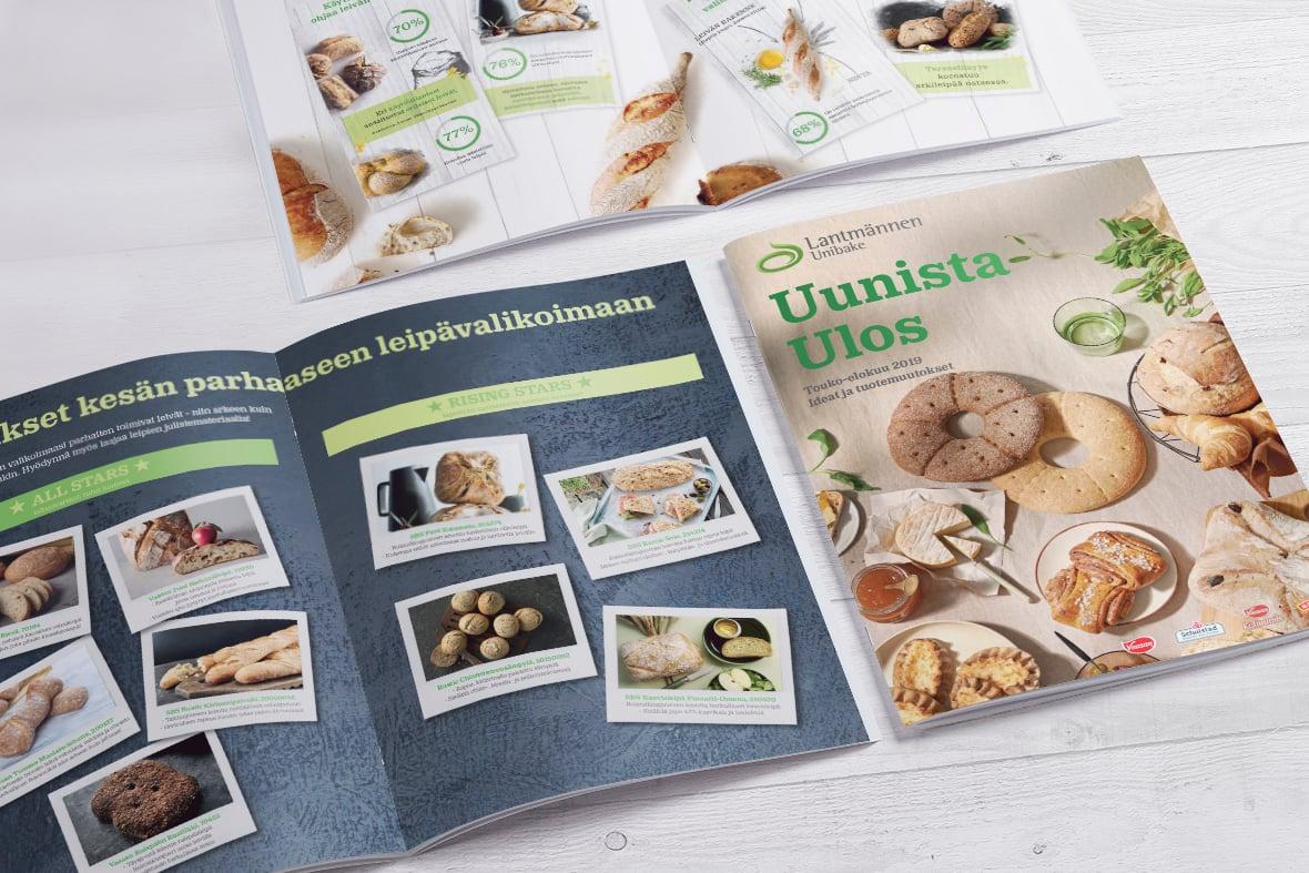 Lantmännen Unibake Uunista Ulos 2/2019 Esite Grano Retail & Creative Referenssi Case
