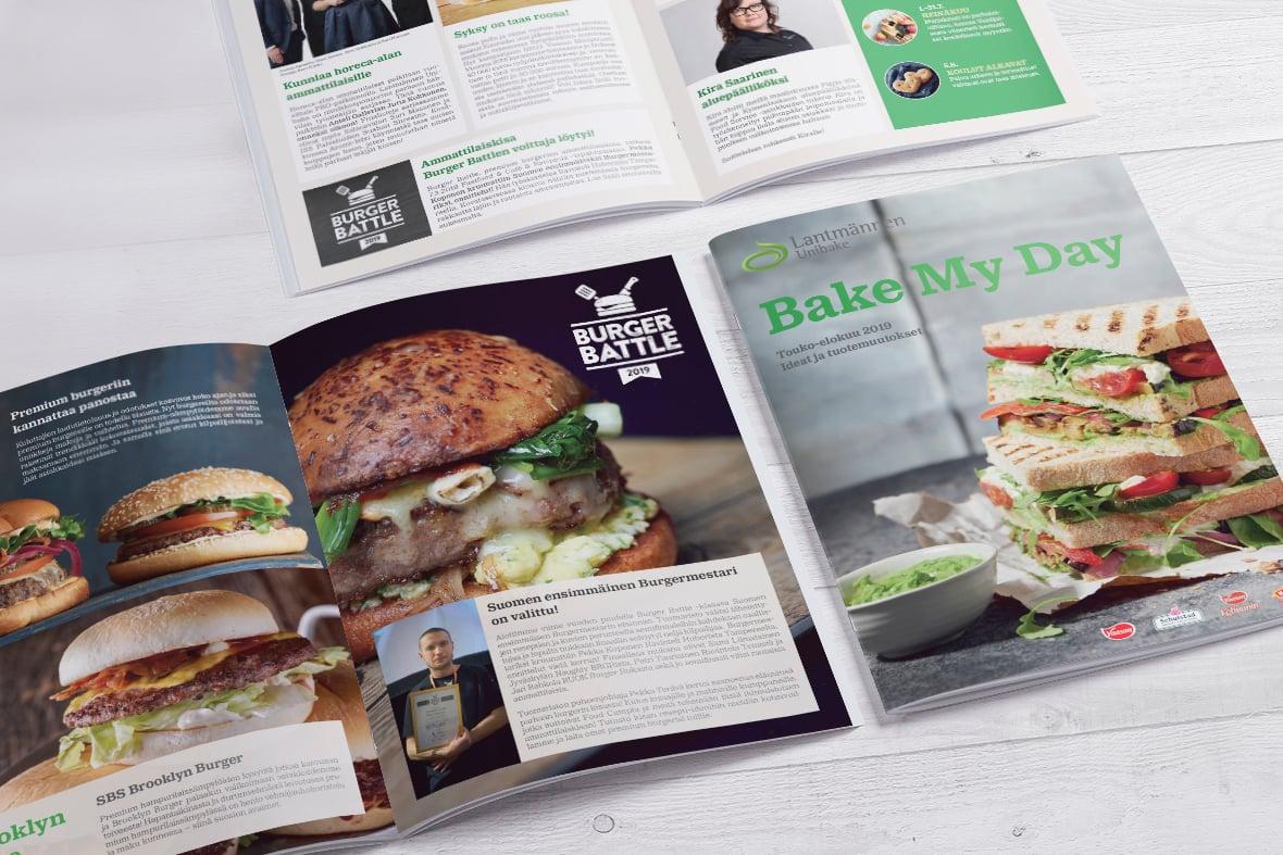 Lantmännen Unibake Bake My Day 2/2019 Esite Grano Retail & Creative Referenssi Case