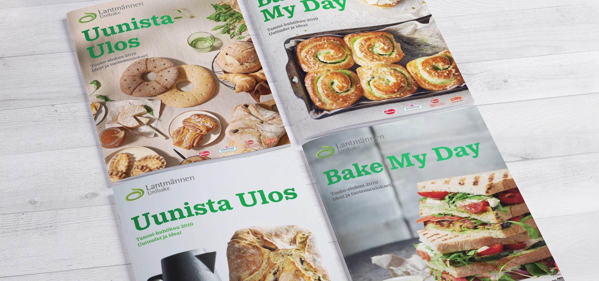 Lantmännen Unibake esitteet 2019 Grano Retail & Creative