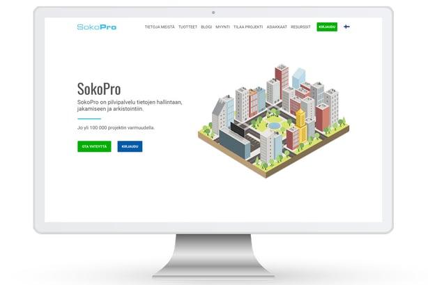 SokoPron verkkosivut uudistuivat