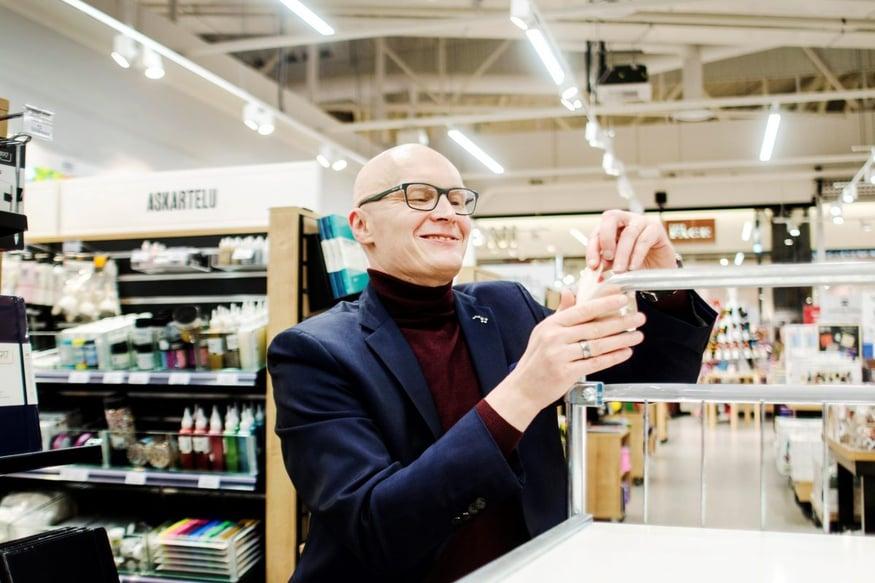 Jyväskylän Suomalainen Kirjakauppa suojattiin Granon CovidSafe Virusteipillä